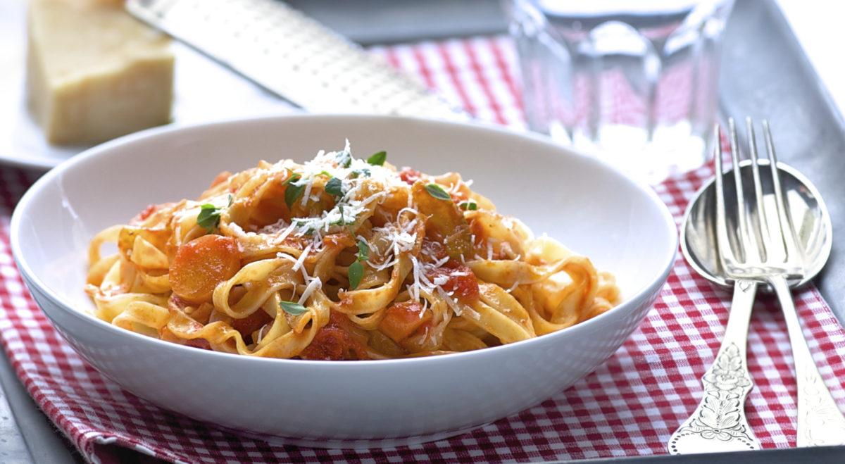 pasta med tomatsaus annasfoodstories