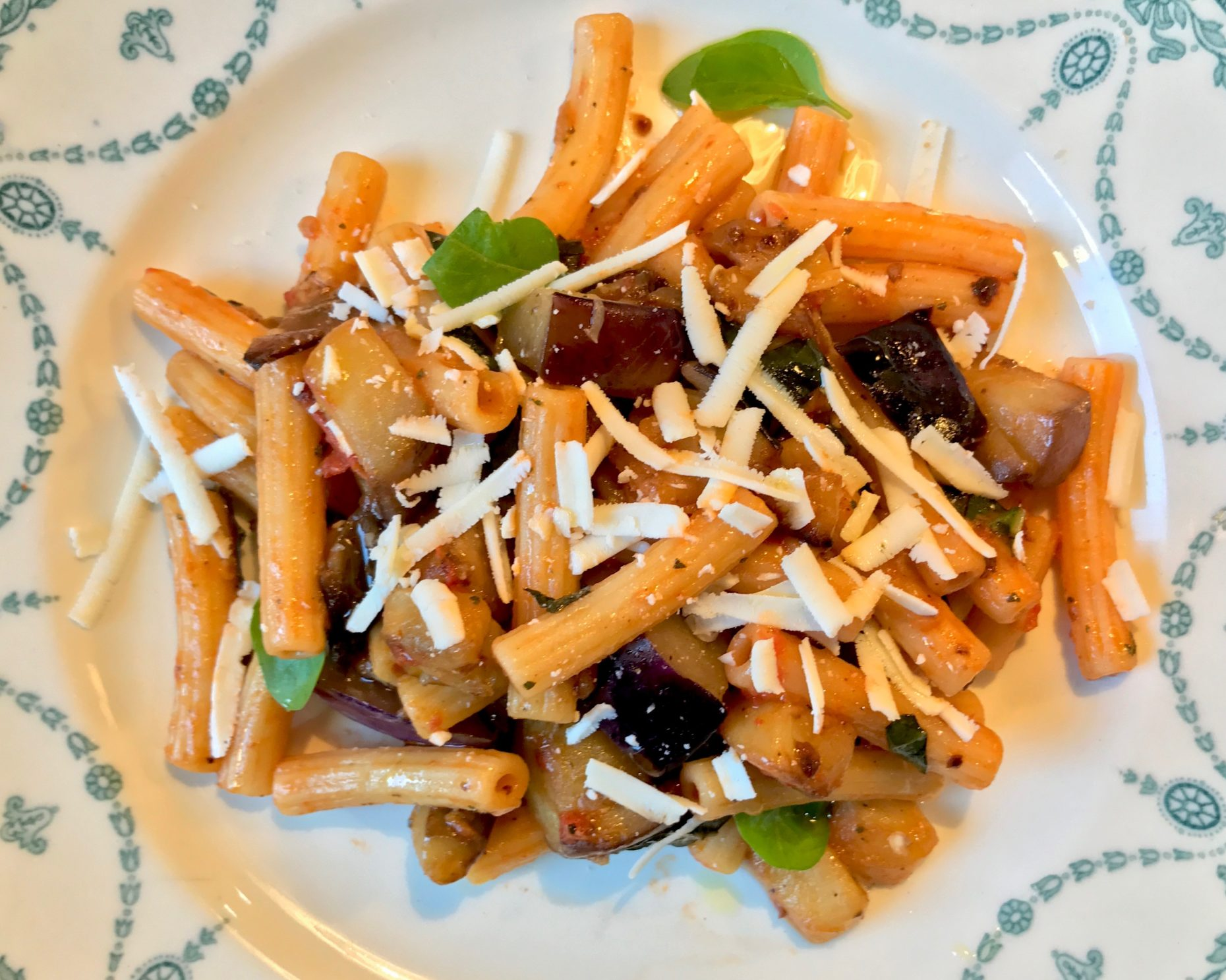 Pasta eggplant annasfoodstories