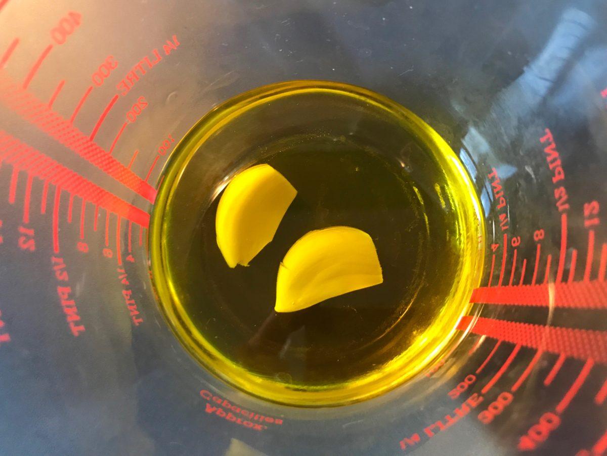 garlic infused oil annasfoodstories