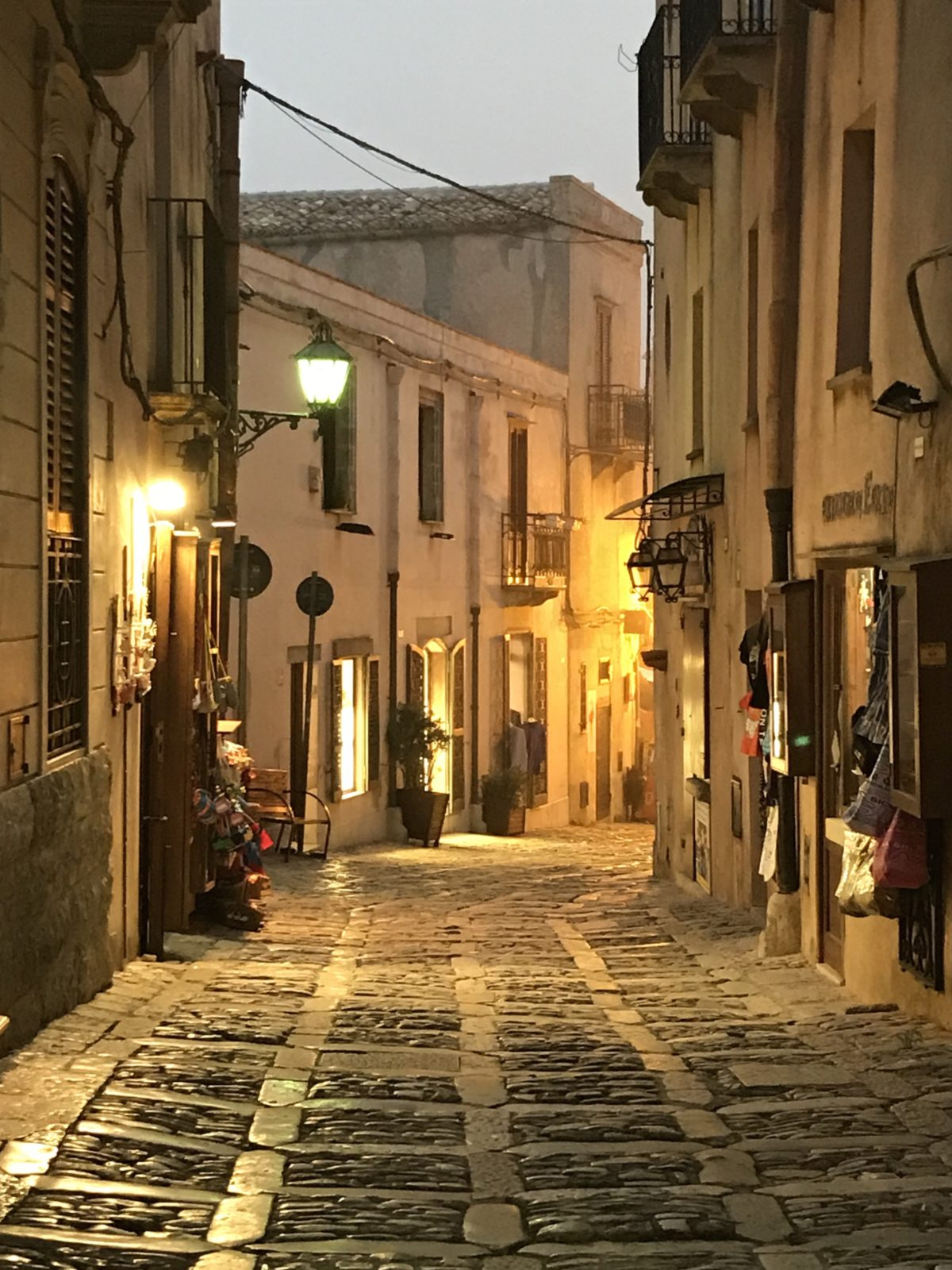 Evening in Erice annasfoodstories
