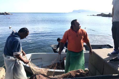 fisherman in Palermo annasfoodstories
