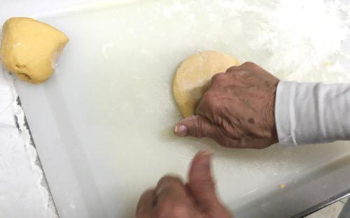 knead pasta dough annasfoodstories