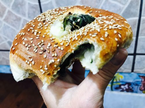 rosticceria al pezzo with spinach annasfoodstories