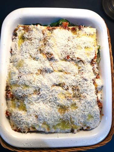 wonderful veggie lasagne ready before oven annasfoodstories