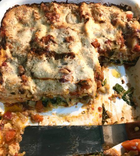 left overs wonderful veggie lasagne annasfoodstories